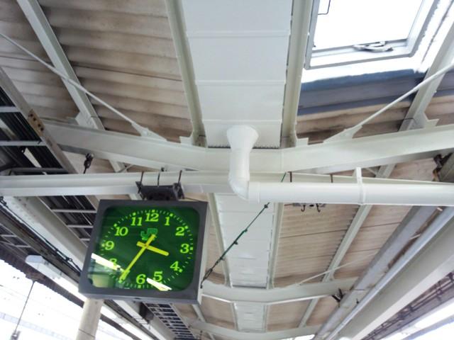 JR宇都宮駅 9・10番線ホーム鉄骨塗装工事