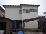 S邸外壁塗替え完了